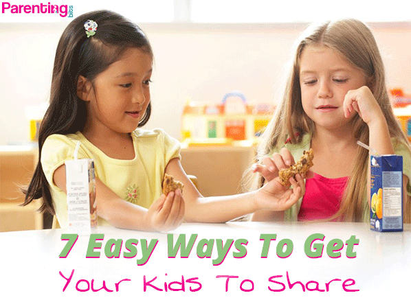 7-Easy-Ways-To-Get-Your-Kids-To-Share| Parenting bits
