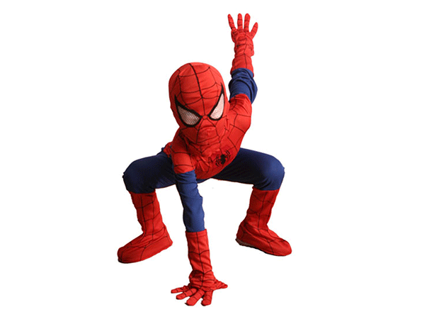 spiderman-salutes